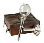 Antique Cased Travel Lamp