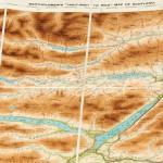 Leather Cased Set of Scotland Motoring Maps