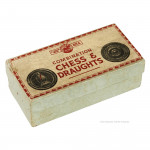 Box of Chess & Draught Counters
