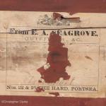 E.A. Seagrove Secretaire Antique Campaign Chest