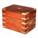 George Austin Decanter and Tea Caddy Box