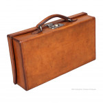 Small Leather Antique Suitcase