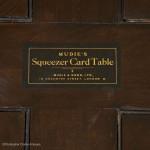 Mudie's Squeezer Card Table