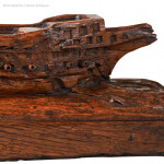 Carved Model of a Ship
