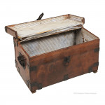 Small Leather Mule Trunk