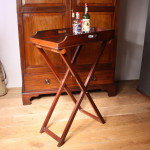 Tall Butler's Tray on Stand