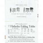 Hatherley Patent Easel Table