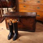 Leather Mule Trunk