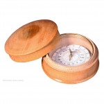 Wooden Cased Compass