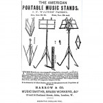 Portable Stand by Harrow & Co.