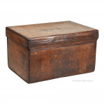 Leather Hat Box by A&N CSL