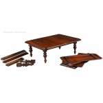 Salesman's Sample Campaign Dining Table