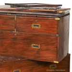 Campaign Chest with Cupboard