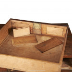 Antique Campaign Chest With Secret Drawers