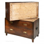 Low Mahogany Campaign Chest