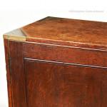 Brass Bound Campaign Cabinet