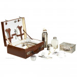 Asprey Cased Tea For Four Case