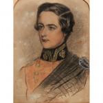 Portrait Drawing of Lieutenant A. W. Jennings Bramly