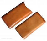 Plain Leather Hide Cigar Case