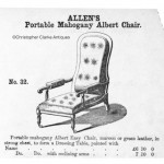 Antique Library Armchair