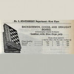 Leather Backgammon, Chess & Draughts Book Set