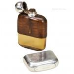 Hip Flask by Goldsmiths & Silversmith Co.
