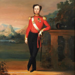 Oil Painting of Lieutenant Charles Duperier Of The 80th Regiment