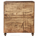 Mahogany Antique Campaign Chest By Lowndes