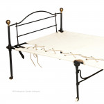Iron Campaign Single Bed