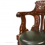 Mahogany Ship's Chair from RMS Olympic