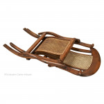 Ship's Deck Chair with Foot Rest