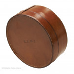 Large Leather Collar Box by Drew & Sons