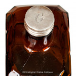Four Bottle Cased Spirit Decanter Set