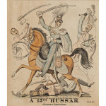A Set of 3 Military Engraved Prints by Ash of Cavalry Regiments