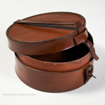 Round Leather Collar Box