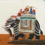 Set of 4 Indian Transport Paintings - HEIC School