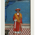 Set of 3 Paintings of Servants with Card Background - HEIC School