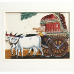 Covered Bullock Cart with Man - HEIC School