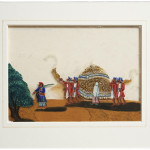Chandol Palanquin Painting on Mica - HEIC