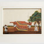 Purdah Palanquin Painting on Mica - HEIC
