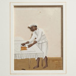Indian Servant Ironing Painting - HEIC