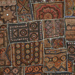 An Indian Patchwork Wall Hanging