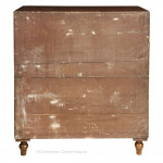 Teak Campaign Chest with hat drawer