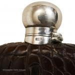 Small Crocodile Flask by Dixon