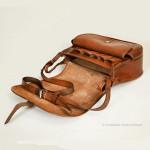 Leather Cartridge Shoulder Bag