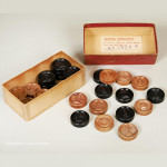 St. George Combination Chess & Draughts Counters