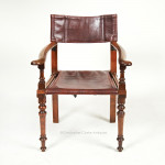 Campaign Armchair By Ross & Co.