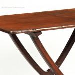 Mahogany, Folding Coaching Table