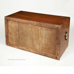 Mr R. Dykes' Teak Trunk with Paktong Handles