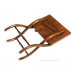 Mahogany Folding Coffee Table